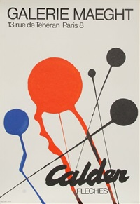 calder exhibition at galerie maeght (fleches) by alexander calder