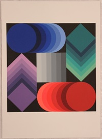 mondiali '90 by victor vasarely