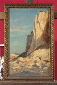 les falaises du tréport by alexandre morlon