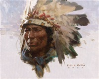 cheyenne warrior by z.s. liang