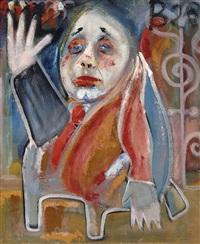 composition (+ figure; verso) by wim de haan