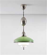 sistrah ceiling light, model no. zp3 by c.f. otto müller