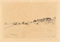 la plage de la panne by james ensor
