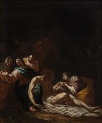 compianto su cristo morto by simon vouet