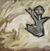 figure and sheep by davida allen