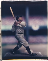 babe ruth, new york yankees (from the baseball series) by david levinthal