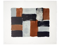paris red wall by sean scully