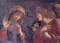 the annunciation by giovanni maria viani