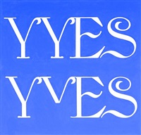 why yes yves by kay rosen