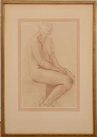 model resting by charles despiau