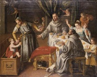 the miracle of saint francis by juan (fray) sanchez y cotan