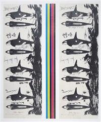ohne titel (whales - a remake portfolio) by allan kaprow