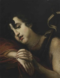 saint john the baptist by cesare dandini