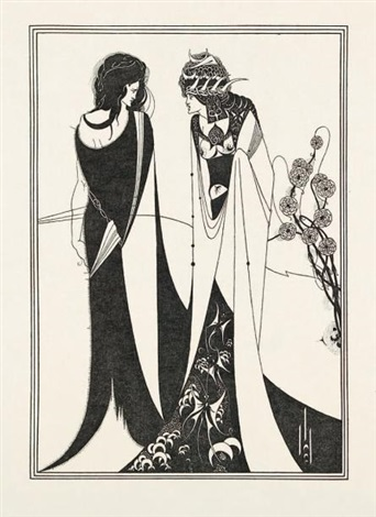 salome by oscar wilde portfolio of 17 by aubrey vincent beardsley