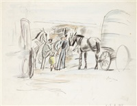 attelages by jules pascin