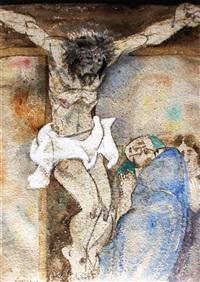 crucifixion by benedicto cabrera