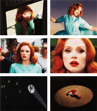 despair (portfolio of 6) by alex prager