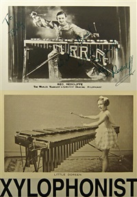 x is for xylophonist by peter blake