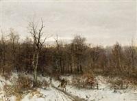 vinterlandskap by sophus jacobsen