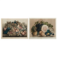 autumn fruits; american choice fruits by currier & ives (publishers)