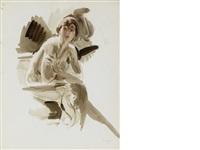 buste de femme nue by giovanni boldini
