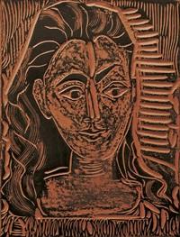 petite buste de femme by pablo picasso
