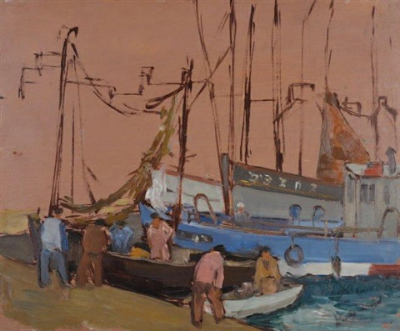 port de pêche by pierre abadie landel
