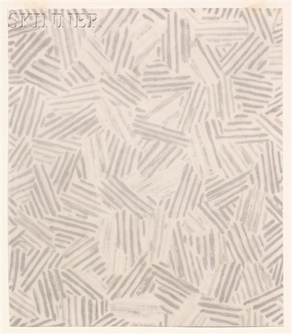 silver cicada summer 2 works by jasper johns