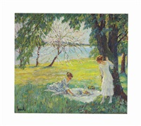 the picnic by edward cucuel