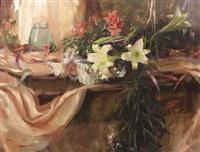 easter lilies by dan gerhartz