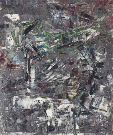 paris cest plus vieux by jean paul riopelle