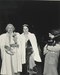 the critic by weegee