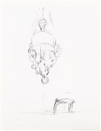 chaise et suspension by alberto giacometti