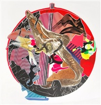 sanor from imaginary places ii by frank stella