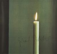 kerze i candle i by gerhard richter