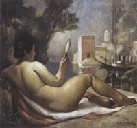 odalisque by rené pierre louis besserve