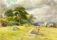 haymaking by william gilbert foster