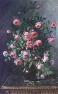 bouquet de roses by marie-lucie cornelius