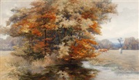 autumn glory by mary georgina barton
