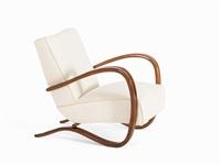 armchairs kreslo h269 (pair) by jindrich halabala