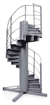staircase by gustave eiffel