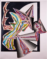 then came death and took the butcher by frank stella