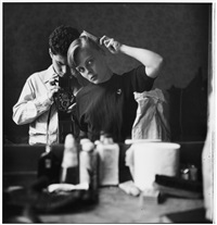 paris (self-portrait) by elliott erwitt