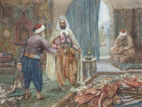 the carpet seller by albert rosati