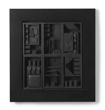 black excursion 3 by louise nevelson