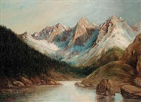 untitled - rocky mountains by henry metzger