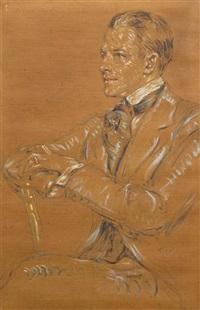 portrait of a man by robert reid