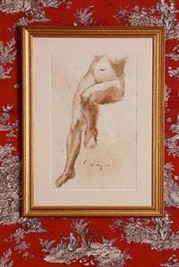 étude de nu by charles despiau