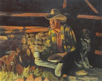 camp at stone corral by david adams