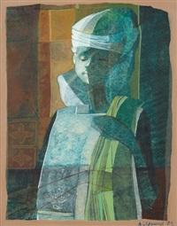 portrait of a boy by bernard séjourné